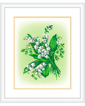 """Канва/ткань с рисунком """"М.П.Студия"""" №1 21 см х 30 см арт. ГММ-13084-9-ГММ0051089"""