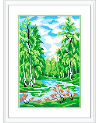 """Канва/ткань с рисунком """"М.П.Студия"""" №1 21 см х 30 см арт. ГММ-13084-12-ГММ0040253"""