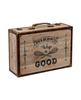 """Шкатулка """"чемоданчик"""" DBQ-01 39x27x14 см арт. ГММ-4407-5-ГММ068877143254"""