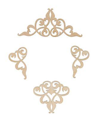 """Заготовки для декорирования """"Mr. Carving"""" ВД-895 Набор вензелей фанера 3-8 см арт. ГММ-15119-3-ГММ070048382824"""