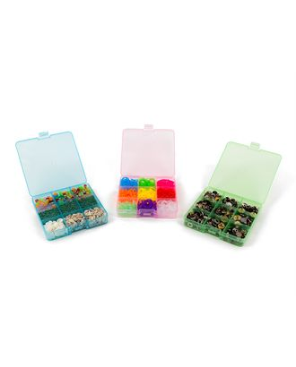 Коробка пластик для шв. принадл. пластик OM-086 арт. ГММ-405-1-ГММ0059418