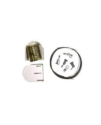 Фурнитура Карниз-струна 3.5 м с метал.зажимами С-120 арт. ГММ-795-1-ГММ0028305