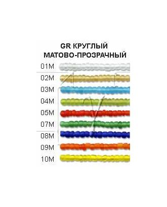 "Бисер ""Zlatka"" GR 08/0 (0001М-0016М), 100г арт. ГММ-1136-11-ГММ0062030"