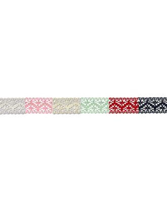 Тесьма декоративная кружевная HVK-05 ш.1,3 см арт. ГММ-1507-1-ГММ0004788