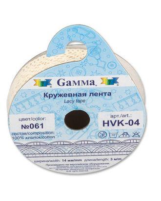 Тесьма декоративная кружевная HVK-04 ш.1,4 см 5х3м арт. ГММ-1512-1-ГММ0039457