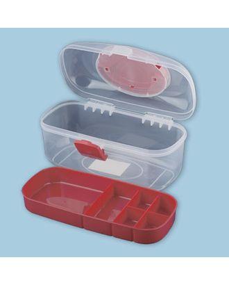 Коробка для шв. принадл. пластик ОМ-055 арт. ГММ-1779-1-ГММ0041458