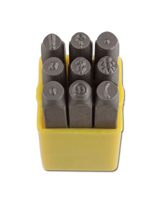 "Набор штампов для чеканки по металлу ""ELVAS"" NMH-04 4 мм арт. ГММ-2279-1-ГММ0059302"