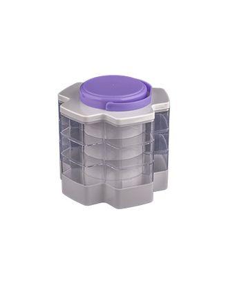 Коробка пластик из 5 составных лотков пластик ОМ-1532 арт. ГММ-2502-1-ГММ0045062