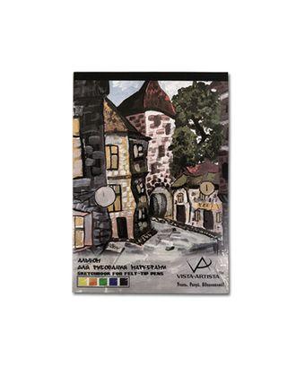 """""""VISTA-ARTISTA"""" SDM Альбом для рисования маркерами 70 г/м2 40 л. А4 21 х 29.7 см арт. ГММ-2556-1-ГММ0066992"""
