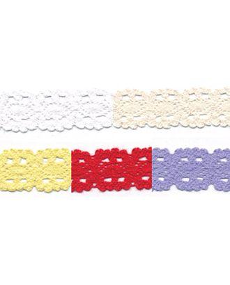 Тесьма декоративная кружевная HVK-19 ш.1,8 см арт. ГММ-2643-1-ГММ0050626