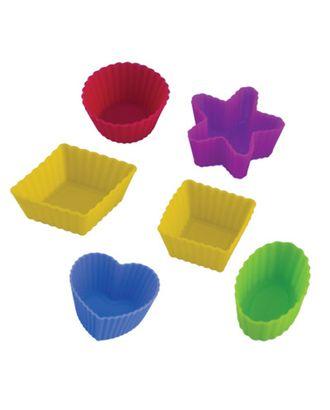 """Формы для выпечки силиконовые """"Pan-Cake"""" SPC-0046 набор 3x3x1.5 см 6 шт арт. ГММ-2699-1-ГММ0047800"""