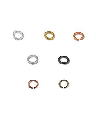 """Кольцо соединительное """"FAYCRAFT"""" JRC-4.5 4.5мм, 24шт арт. ГММ-2883-5-ГММ0027019"""