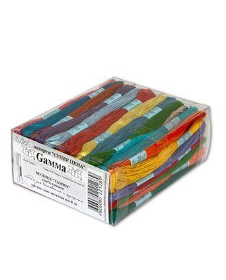 """Нитки для вышивания набор мулине """"Суперцена"""" 100% хлопок 100 x 8 м арт. ГММ-2961-1-ГММ0081036"""