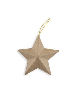 """Заготовки для декорирования """"Love2art"""" PAM-020 """"звезда"""" папье-маше 10x4.5 см арт. ГММ-3355-1-ГММ0041765"""