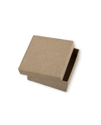 """Заготовки для декорирования """"Love2art"""" PAM-014 """"коробка"""" папье-маше 7x7x3 см арт. ГММ-3358-1-ГММ0075925"""