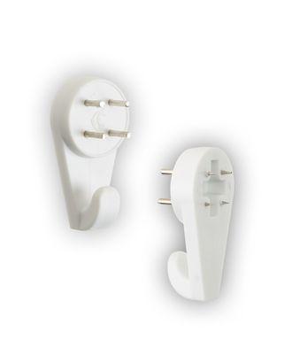 Фурнитура пластик KRK-08 Крючки настенные 5 шт арт. ГММ-3381-1-ГММ0061990