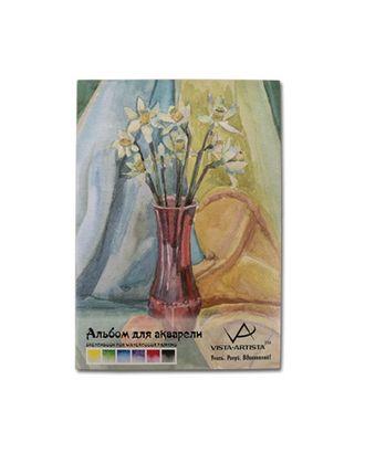 """""""VISTA-ARTISTA"""" SWB-02 Альбом для акварели 230 г/м2 А4 21 х 29.7 см склейка 12 л. арт. ГММ-3753-1-ГММ0071372"""