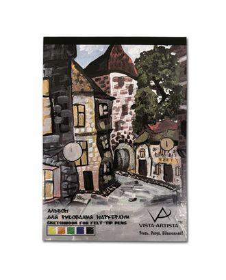 """""""VISTA-ARTISTA"""" SDM-01 Альбом для рисования маркерами 70 г/м2 40 л. А3 29.7 х 42 см арт. ГММ-3756-1-ГММ0078695"""