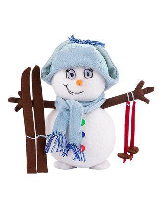 """Наборы для изготовления игрушек """"Miadolla"""" NY-0117 Снеговик арт. ГММ-3981-1-ГММ0000110"""