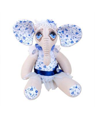 """Наборы для изготовления игрушек """"Miadolla"""" EL-0126 Слоник Блу арт. ГММ-4156-1-ГММ0029105"""