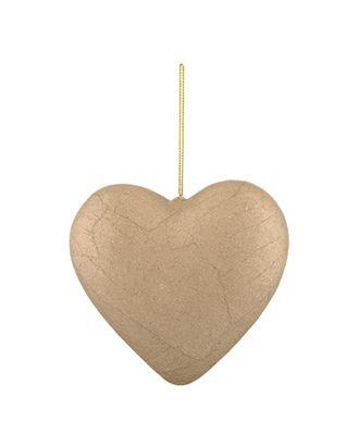 """Заготовки для декорирования """"Love2art"""" PAM-082 """"сердце"""" папье-маше 15 см арт. ГММ-4271-1-ГММ0037916"""