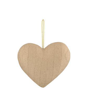 """Заготовки для декорирования """"Love2art"""" PAM-081 """"сердце"""" папье-маше 10 см арт. ГММ-4278-1-ГММ0034985"""