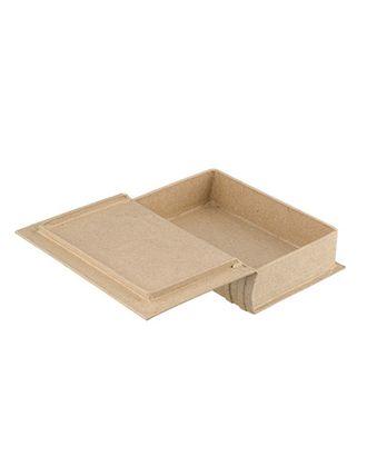 """Заготовки для декорирования """"Love2art"""" PAM-049 """"коробка-книга"""" папье-маше 15x10x3.5 см арт. ГММ-4297-1-ГММ0077308"""