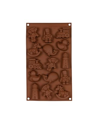 """Формы для выпечки силиконовые """"S-CHIEF"""" SPC-0122 для конфет 30x17.4x2 см арт. ГММ-15346-1-ГММ024839809082"""