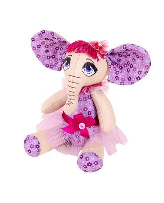 """Наборы для изготовления игрушек """"Miadolla"""" EL-0125 Слоник Лили арт. ГММ-4507-1-ГММ0035625"""