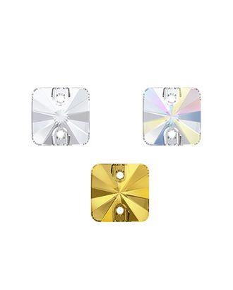 """Стразы """"Сваровски"""" 3201 Crystal 10 х 10 мм кристалл 24 шт в пакете арт. ГММ-5289-1-ГММ0082203"""