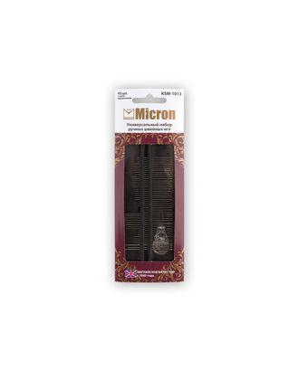 """Иглы для шитья ручные """"Micron"""" KSM-1013 универсальный набор швейных игл 45 шт. в блистере арт. ГММ-99569-1-ГММ028027791072"""