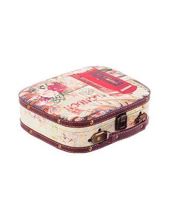 """Шкатулка """"чемоданчик"""" DBQ-02 25x21x7,5 см арт. ГММ-5338-1-ГММ0029435"""