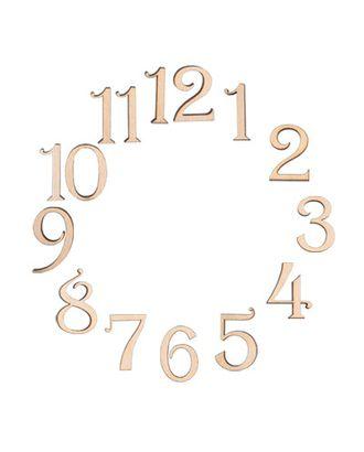 """Заготовки для декорирования """"Mr. Carving"""" ВД-068 цифры """"Изящные"""" фанера 2.4 см арт. ГММ-5410-1-ГММ0039419"""