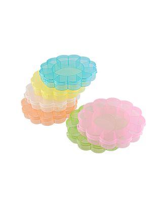 Коробка для шв. принадл. пластик OM-013 арт. ГММ-6544-6-ГММ0034227