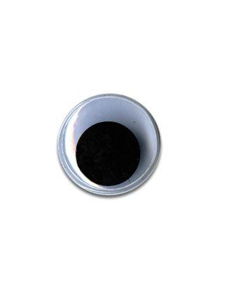 """Глаза круглые с бегающими зрачками д.15 мм """"HobbyBe"""" MER-15 арт. ГММ-6565-1-ГММ0027181"""