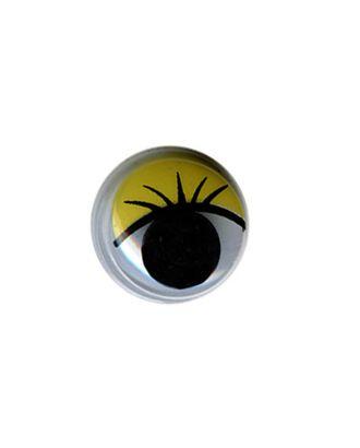 """Глаза круглые с бегающими зрачками д.12 мм """"HobbyBe"""" MER-12 арт. ГММ-6885-1-ГММ0072854"""