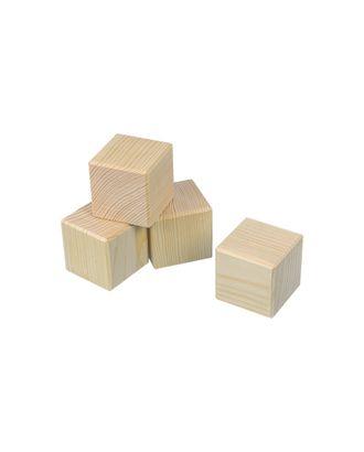 """Заготовки для декорирования """"Mr. Carving"""" ПР-30 Заготовка """"Кубики"""" сосна 5.5x5.5 см арт. ГММ-7451-1-ГММ0051632"""