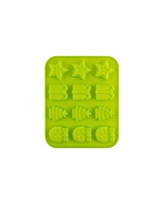 """Формы для выпечки силиконовые """"Pan-Cake"""" SPC-0109 для конфет 19x16x3 см арт. ГММ-7646-1-ГММ0083246"""