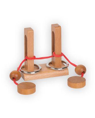 """DELFBRICK"" DLS-09 Головоломка деревянная 1 шт арт. ГММ-8900-1-ГММ0061010"