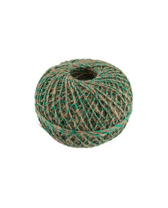Шпагат льняной с зеленой нитью ШЛЗН 100% лен 100м 109я арт. ГММ-9551-1-ГММ0044807