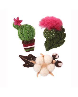 "Набор ""Woolla"" WB-0174 ""Цветущие растения"" арт. ГММ-9981-1-ГММ0040628"