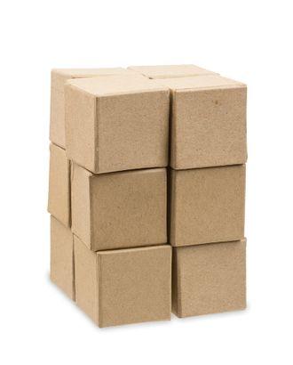 """Заготовки для декорирования """"Love2art"""" PAM-137 """"кубики"""" папье-маше 5x5 см арт. ГММ-10072-1-ГММ0048453"""