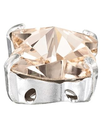 """PRECIOSA"" 1410/01 Crystal AB/ ""silver"" 10 х 10 мм стекло 4 шт в пакете арт. ГММ-10615-1-ГММ0061026"