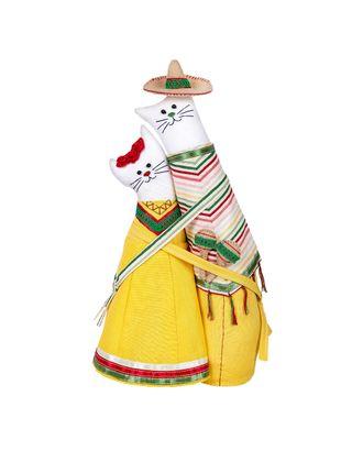 """Наборы для изготовления игрушек """"Miadolla"""" C-0228 Коты-обнимашки мексиканцы арт. ГММ-10679-1-ГММ0075109"""