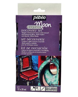 """Набор красок """"PEBEO"""" Fantasy Moon с фактурным эффектом 754467 12цв. 20мл арт. ГММ-10715-1-ГММ0053154"""