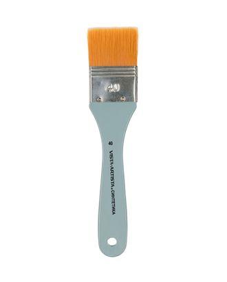 "Кисти синтетика ""VISTA-ARTISTA"" 4023F-40 флейц 6 шт короткая ручка арт. ГММ-10920-1-ГММ0002790"