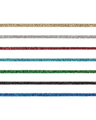 Тесьма отделочная сутаж (шнур отделочный) 02с2143 с метанитью 1.9 ммх20м арт. ГММ-11345-1-ГММ0042042