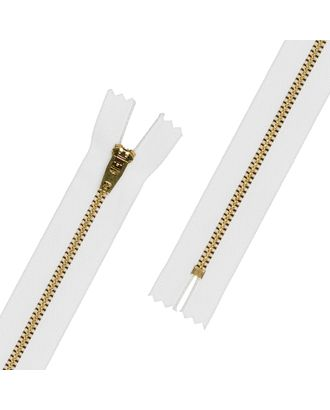 Молнии Металл JIN 4L 18 см латунь № 1 Тип 4 10 шт арт. ГММ-11488-1-ГММ0015601