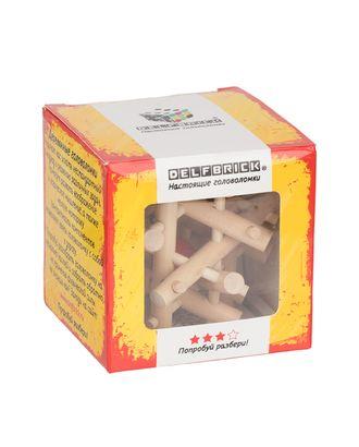 """DELFBRICK"" DLS-13 Головоломка деревянная 1 шт арт. ГММ-14804-1-ГММ063485859554"