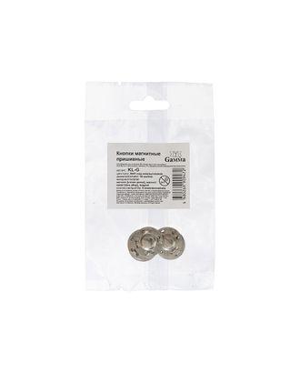 Кнопки KL-G магнитные д.1,8см (металл) арт. ГММ-14402-1-ГММ063577986304